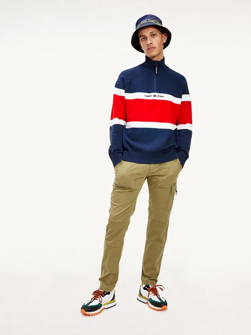 Sueter-color-block-con-cuello-perkins-Tommy-Hilfiger