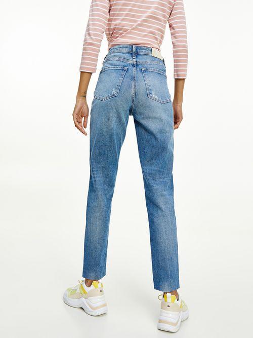 Jeans-Gramercy-de-talle-alto-y-corte-conico-Tommy-Hilfiger