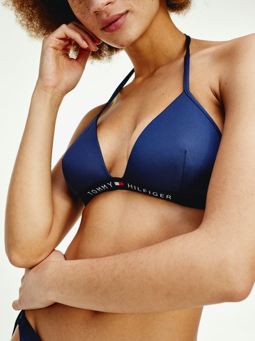 Parte-superior-de-bikini-con-logo-Tommy-Hilfiger