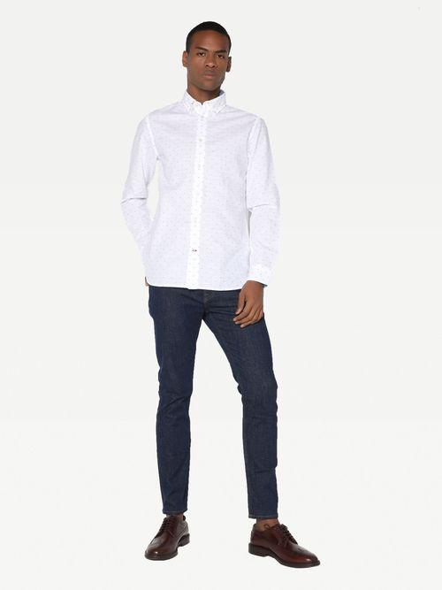 Camisa-casual-de-algodon-Tommy-Hilfiger