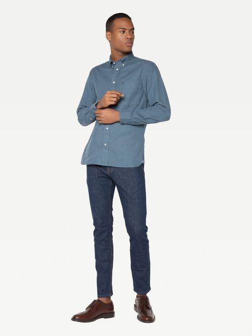 Camisa-jaspeada-casual-Tommy-Hilfiger