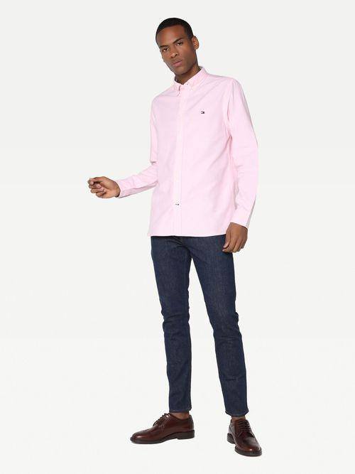 Camisa-Oxford-clasica-de-corte-regular-Tommy-Hilfiger