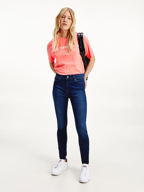 Jeans-Shape-ceñidos-de-talle-medio-desteñidos-Tommy-Hilfiger