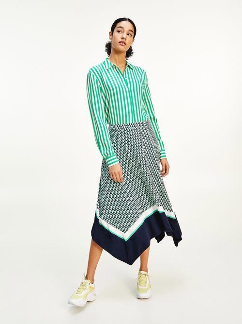 Camisa-de-viscosa-con-estampado-geometrico-Tommy-Hilfiger