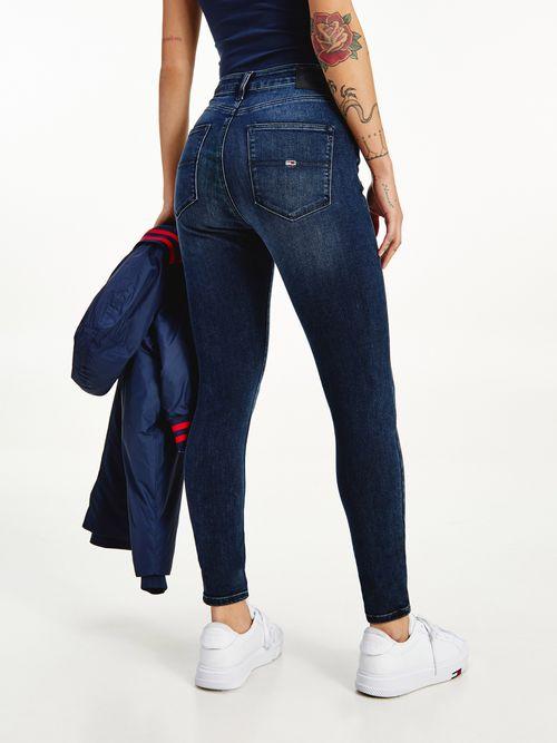 Jeans-Sylvia-superceñidos-de-talle-alto-desteñidos-Tommy-Hilfiger