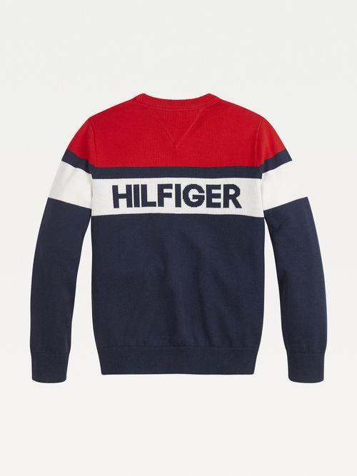 Sueter--color-block-de-algodon-organico-Tommy-Hilfiger