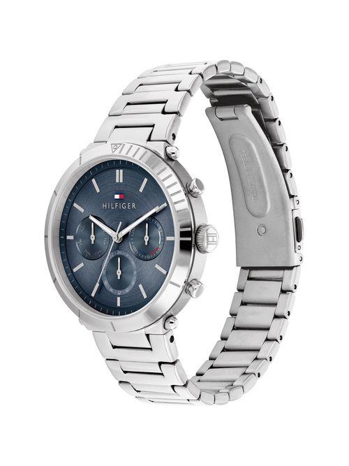 Reloj-metalico-con-azul-electrico-Tommy-Hilfiger