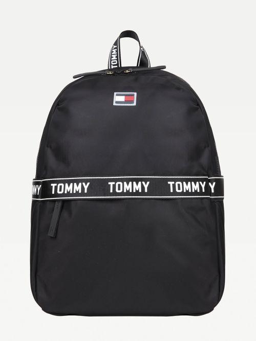 Mochila-de-nailon-con-logo-escrito-Tommy-Hilfiger