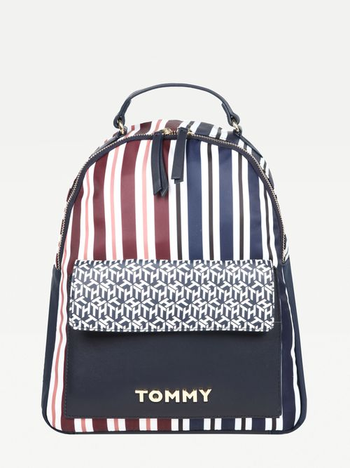 Mochila-de-piel-de-multiples-diseños-Tommy-Hilfiger