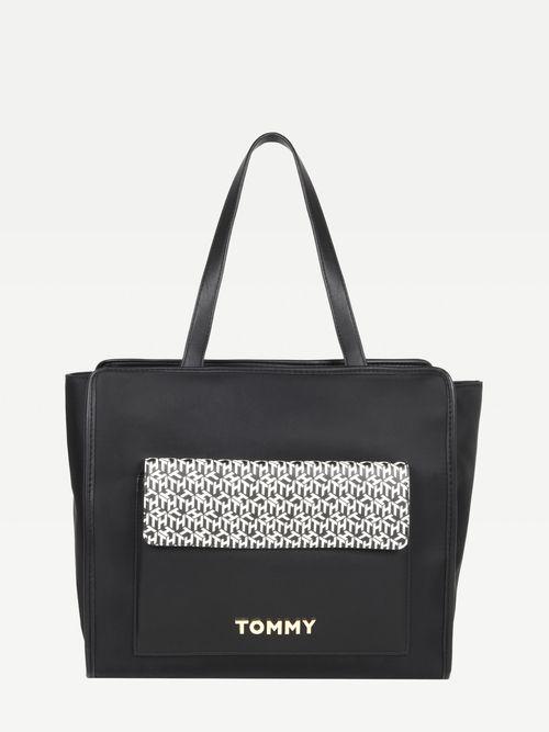 Bolso-tote-de-piel-con-multiples-diseños-Tommy-Hilfiger