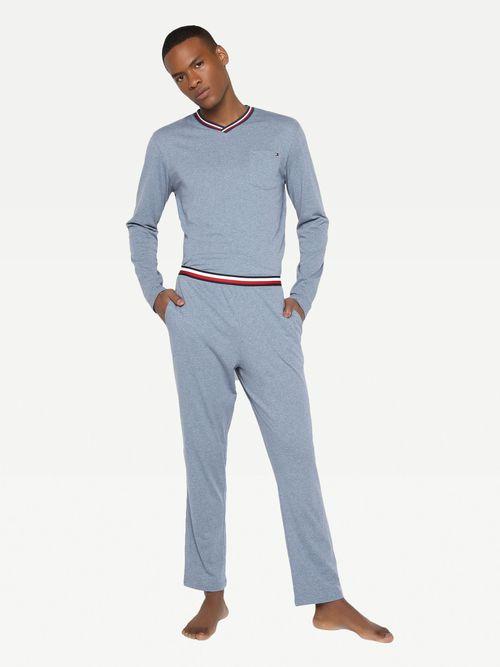Pantalon-comodo-con-cinta-tricolor-Tommy-Hilfiger