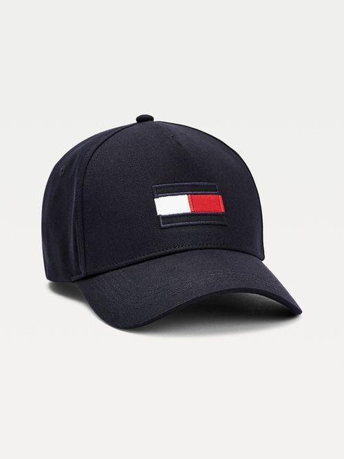 Gorra-de-beisbol-de-algodon-organico-con-logo-Tommy-Hilfiger