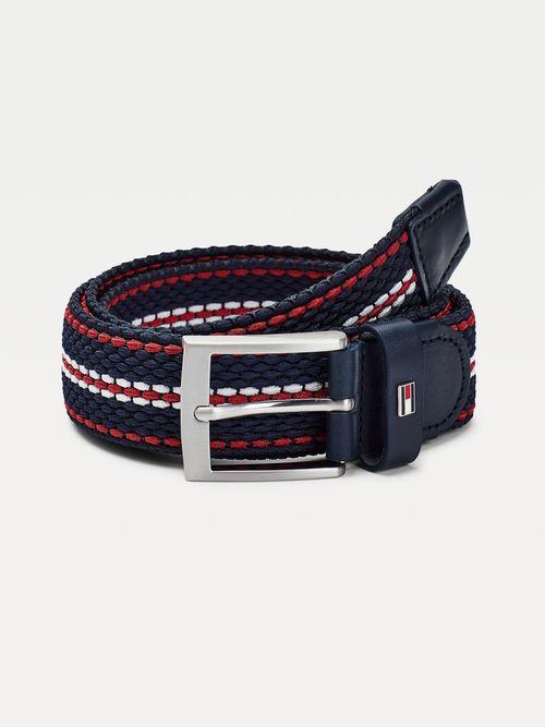 Cinturon-elastico-de-diseño-trenzado-Tommy-Hilfiger