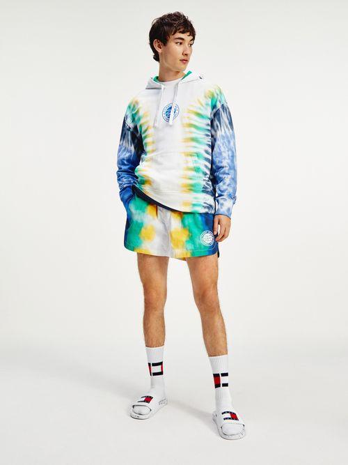 Pantalon-corto-estilo-runner-desteñido-Tommy-Hilfiger