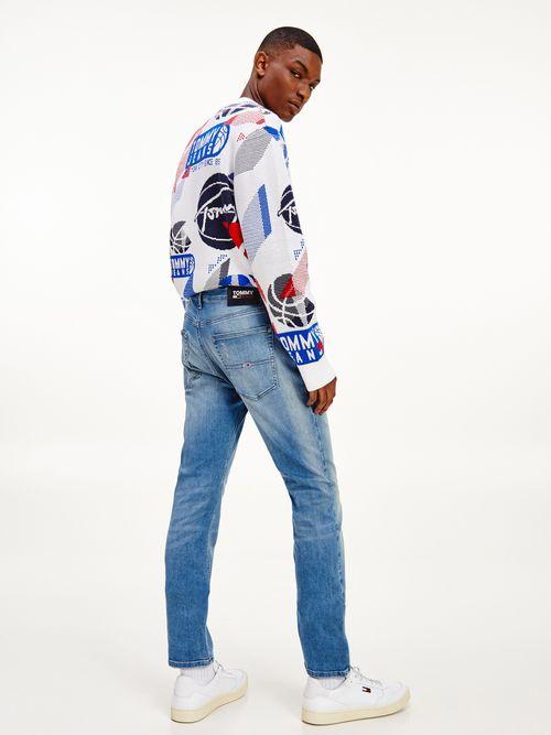 Jeans-Scanton-slim-desteñidos-de-corte-ajustado-Tommy-Hilfiger