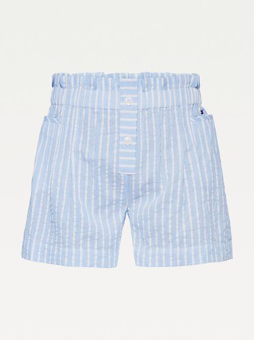 Shorts-de-rayas-con-cintura-paperbag-Tommy-Hilfiger