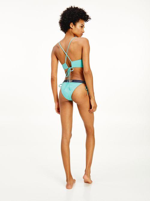 Parte-superior-de-bikini-a-rayas-Tommy-Hilfiger