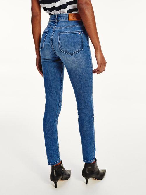 Jeans-Harlem-skinny-superceñidos-de-talle-alto-Tommy-Hilfiger