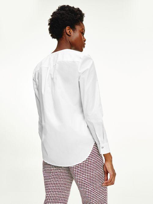 Camisa-con-corte-amplio-y-logo-bordado-Tommy-Hilfiger