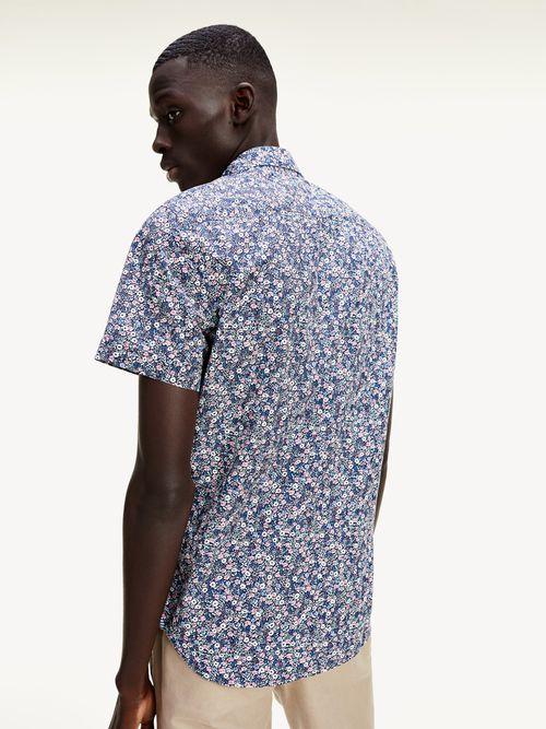 Camisa-de-manga-corta-con-estampado-de-flores-Tommy-Hilfiger