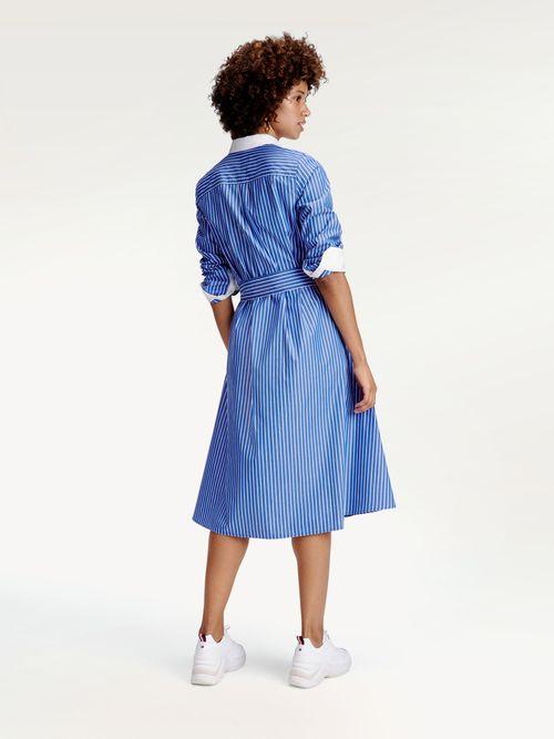 Vestido-camisero-Icons-de-rayas-Tommy-Hilfiger