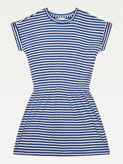 Vestido-Playera-con-diseño-de-rayas-Tommy-Hilfiger