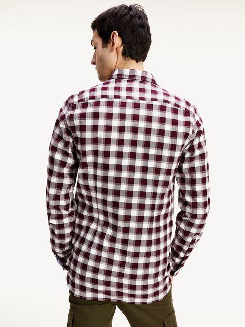 Camisa-de-cuadros-con-corte-slim-Tommy-Hilfiger