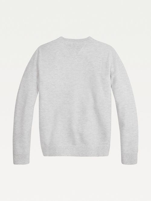 Chamarra-de-algodon-organico-con-logo-bordado-Tommy-Hilfiger
