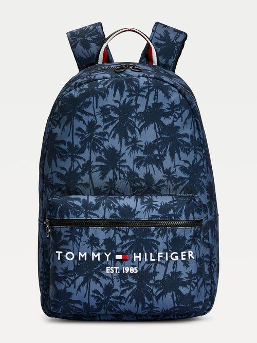 Mochila-TH-Established-con-palmeras-Tommy-Hilfiger