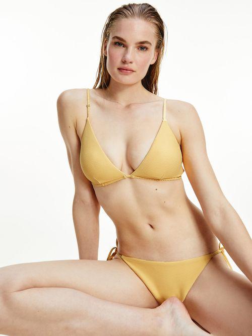 Parte-superior-de-bikini-de-triangulo-con-logo-Tommy-Hilfiger