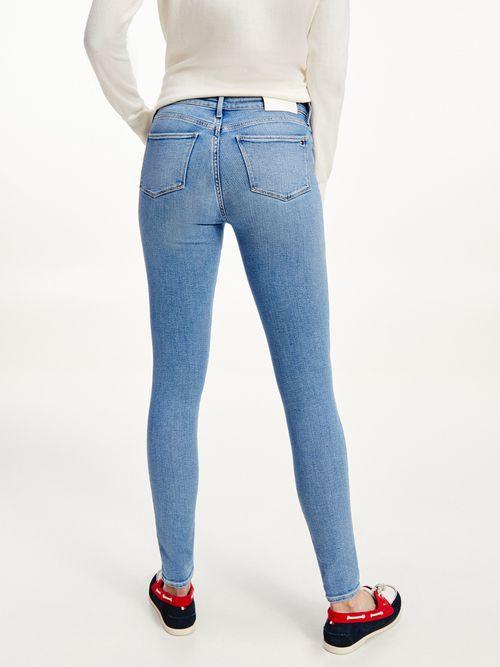 Jeans-Como-skinny-ajustados-de-talle-medio-y-deslavados--Tommy-Hilfiger