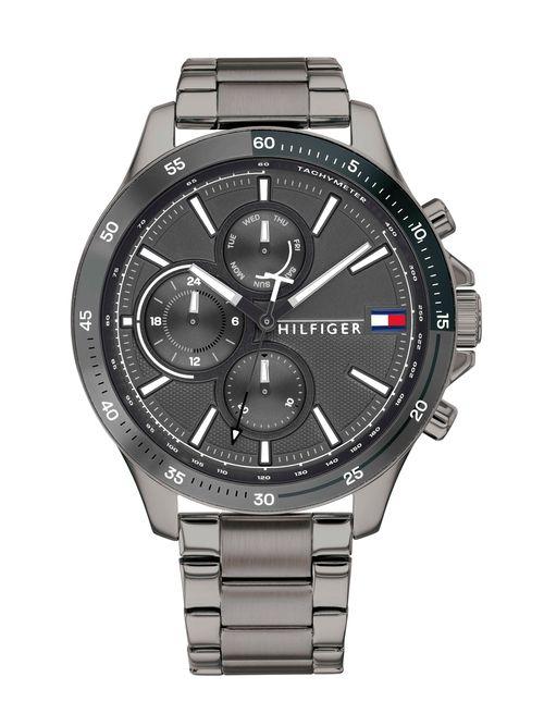 Reloj-metalico-acabado-brilloso-deportivo-Tommy-Hilfiger