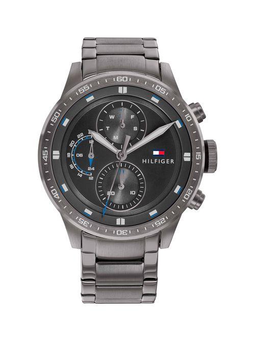 Reloj-metalico-deportivo-con-manecillas-delgadas-Tommy-Hilfiger