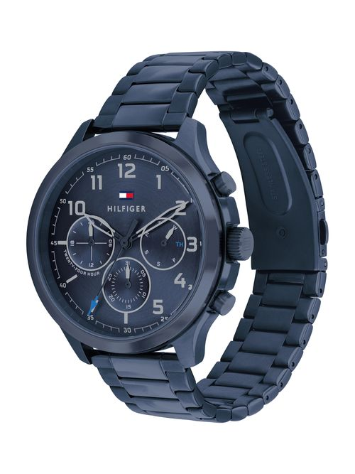 Reloj-metalico-acabado-mate-deportivo-Tommy-Hilfiger