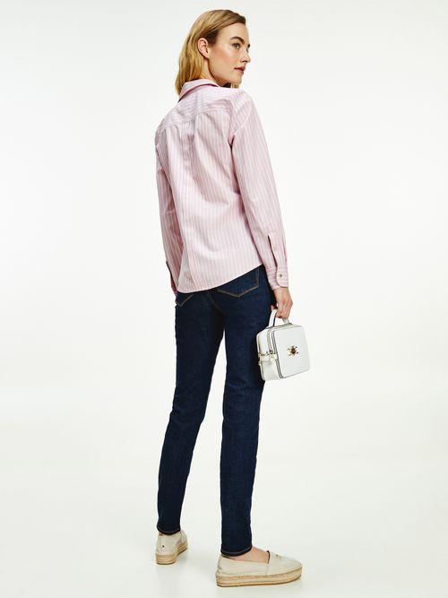 Camisa-de-algodon-organico-con-corte-regular-Tommy-Hilfiger