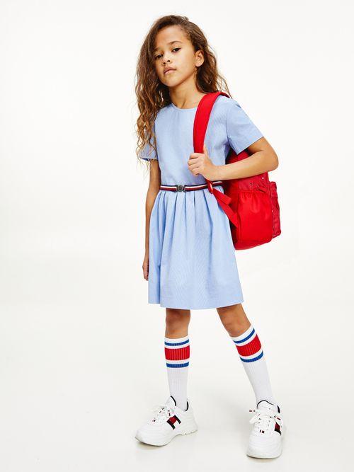 Vestido-de-manga-corta-para-niña--Tommy-Hilfiger
