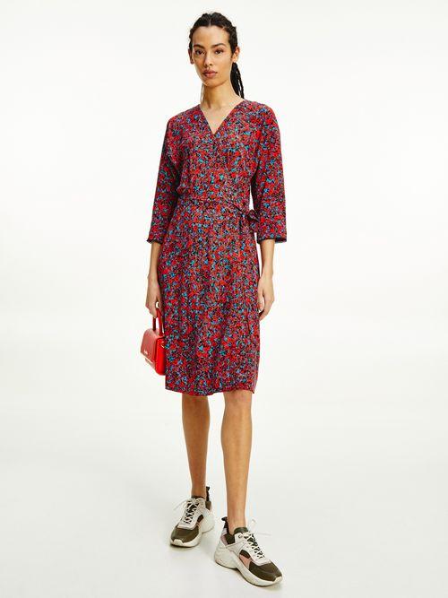 Vestido-bicolor-de-flores-Tommy-Hilfiger