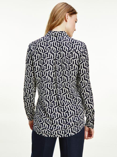 Blusa-estilo-camisa-de-tela-viscosa--Tommy-Hilfiger