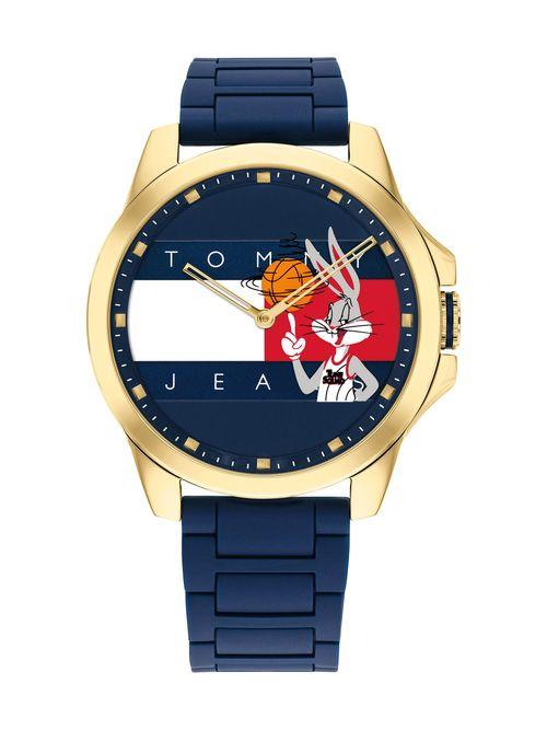 Reloj-Space-Jam-deportivo-de-caucho