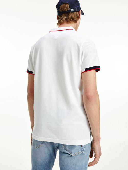 Polo-de-algodon-con-tapeta-distintiva-Tommy-Hilfiger
