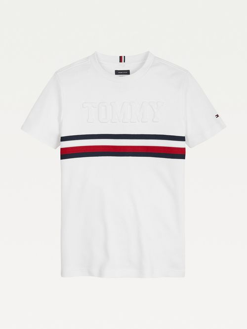Camiseta-con-logo-en-relieve-para-niño-Tommy-Hilfiger