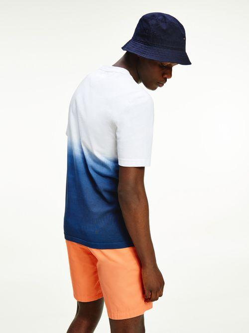 Camiseta-de-algodon-con-efecto-degrade-Tommy-Hilfiger