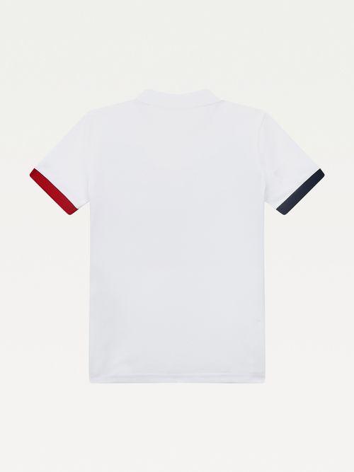 Polo-color-block-Archive-para-niño-Tommy-Hilfiger