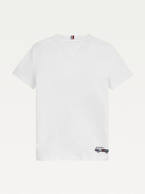 Camiseta-de-algodon-organico-y-logo-Explorer-para-niño-Tommy-Hilfiger