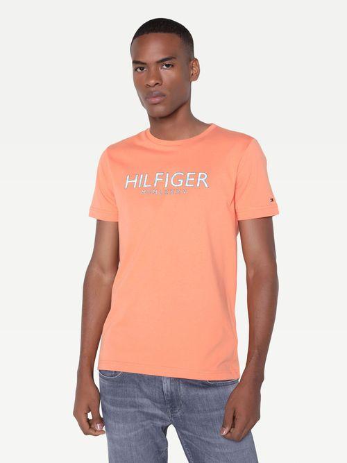 Playera-en-algodon-con-logo-de-palmeras-Tommy-Hilfiger