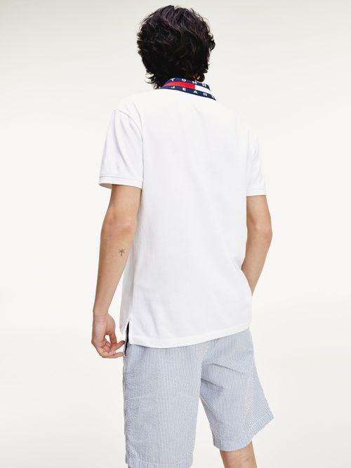 Polo-de-algodon-con-logo-en-el-cuello-Tommy-Hilfiger