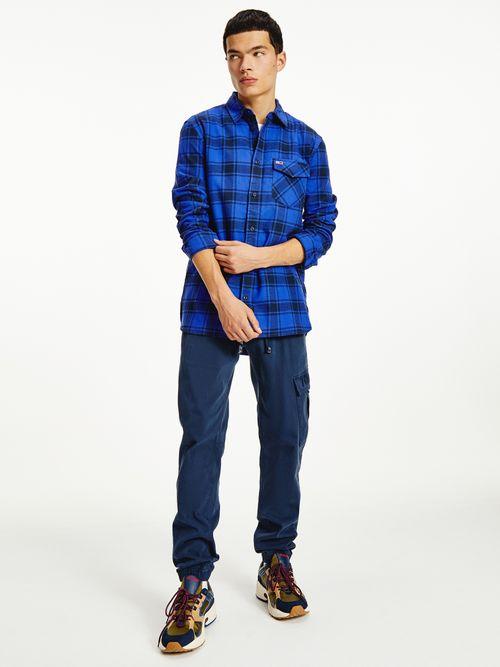 Camisa-de-franela-con-diseño-de-cuadros-Tommy-Hilfiger