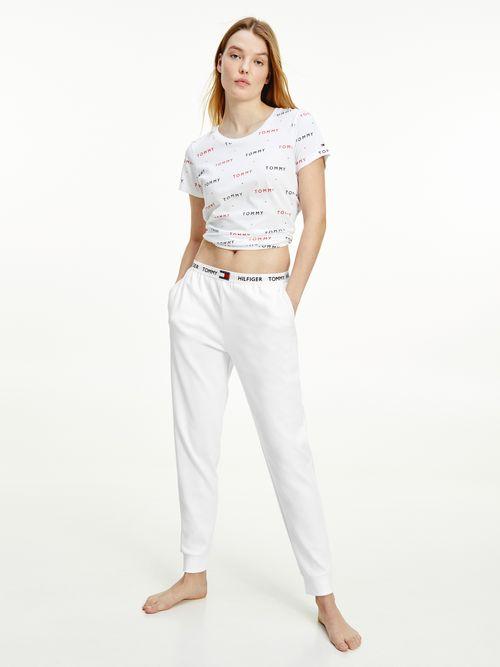Pantalon-de-algodon-organico-con-logo-Tommy-Hilfiger
