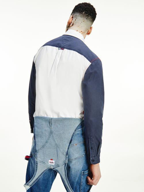 Camisa-color-block-con-parche-de-Tommy-Tommy-Hilfiger