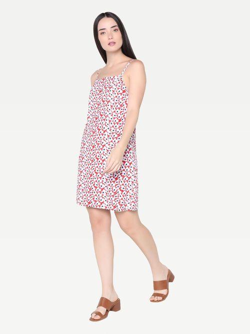 Vestido-slip-con-diseño-de-flores-Tommy-Hilfiger